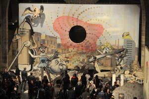 Exposition Jim Shaw, photo Mairie de Bordeaux